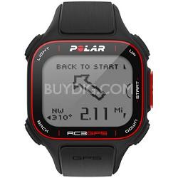 RC3 GPS Watch - Black (90048169)