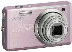Coolpix S560 Digital Camera (Cherry Blossom)