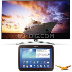 "UN46F7500 - 46"" 1080p 240hz 3D Smart Wifi LED HDTV and 10.1"" Galaxy Tab 3 Bundle"