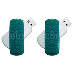 16 GB JumpDrive S33 USB 3.0 Flash Drive 2-Pack (32GB Total)