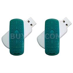 16 GB JumpDrive S33 USB 3.0 Flash Drive 2-Pack (32GB Total)