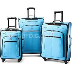 AT Pop 3 Piece Spinner Luggage Set (Aqua Blue)