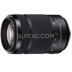 55-300mm DT f/4.5-5.6 SAM Telephoto Zoom A-Mount Lens
