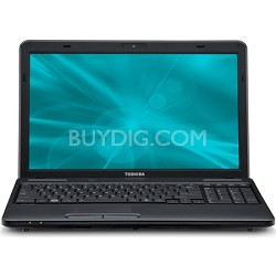 "Satellite 15.6"" C655-S5335 Notebook PC - Intel Celeron Processor B800"