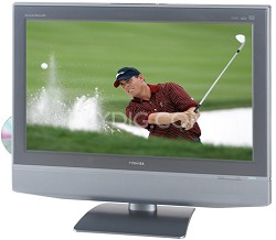 """27HLV95 - 27"""" LCD HDTV w/ built-in DVD Player & HD Tuner + CableCard Slot"""
