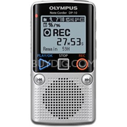 DP-10 - Digital Voice Recorder 142640 (Silver)