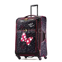 """67615-4754 28"""" Softside Spinner - Minnie Mouse Red Bow"""