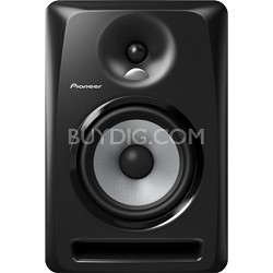 "Black Pioneer S-DJ60X 6"" Active DJ Speaker Reference Monitor"