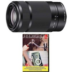 SEL55210 - 55-210mm Zoom (Black) Refurb w/Sony 1 Year Warranty + Elements 12