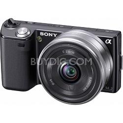 Alpha NEX-5 Interchangeable Lens Black Digital Camera w/ 16mm Lens