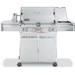 Summit 7170001 S-470 Stainless-Steel 48,800-BTU Liquid-Propane Grill