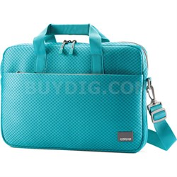 "15.6"" Air Mesh Shuttle Turquoise / Grey Computer Bag"