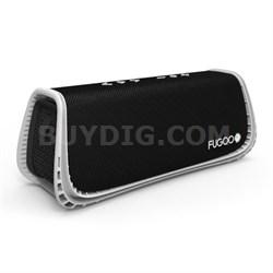 Sport XL Portable Waterproof Speaker with Bluetooth - Black/White - OPEN BOX