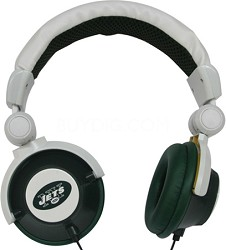 NFL Football Licensed New York Jets DJ Style Headphones