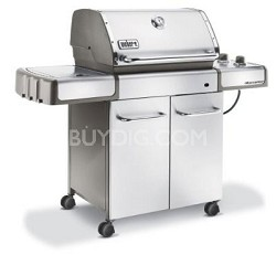 Genesis S-320 Propane Gas Grill, Stainless Steel