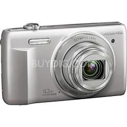 VR-340 16MP 10x Opt Zoom 3-inch LCD Digital Camera - Silver