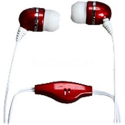 Stereo Earbuds with Built-in Microphone