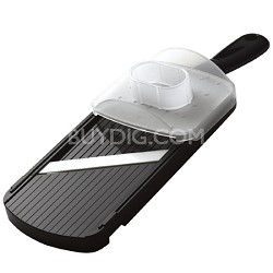 Adjustable Mandoline Slicer with Handguard