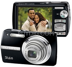 Stylus 820 Digital Camera (Black)