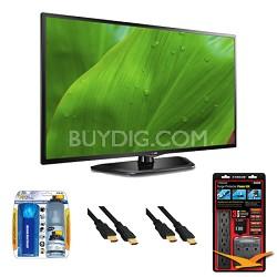 """47LN5700 47"""" 1080p Smart TV 120Hz Dual Core Direct LED Value Bundle"""