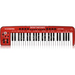 U-Control UMX490 49-Key USB/MIDI Controller Keyboard with USB/Audio Interface