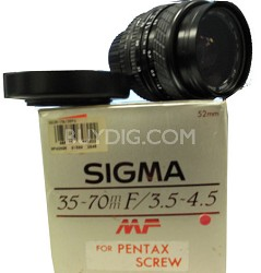 35-70mm f/3.5-4.5 MF for Pentax Screw - OPEN BOX