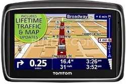 """GO 740 TM Live 5.0"""" GPS connected device w/ Lifetime Traffic and Map Updates"""