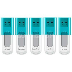 8 GB JumpDrive High Speed USB Flash Drive (Blue) 5-Pack (40 GB Total)