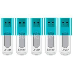 8 GB JumpDrive High Speed USB Flash Drive (Blue) 5-Pack (40 GB Total)