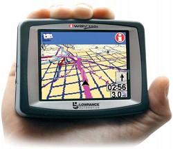 iWAY 250C Portable GPS navigation w/ MP3 Playback and JPEG Viewer