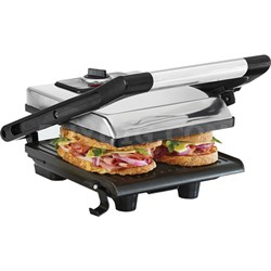 Bella Panini Maker Polished Stainless Steel - 13267GA