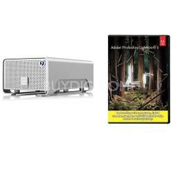 G-RAID W/ Thunderbolt 4000GB Pro Portable Dual-Drive Storage Refurb W/ Lightroom