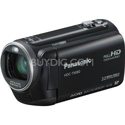 HDC-TM80K HD Twin Memory Camcorder (Black)