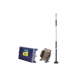 SignalBoost Cell Phone Signal Booster Kit  with Magnet Mount Antenna and Cradle