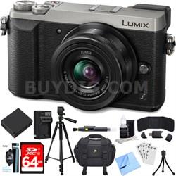 LUMIX GX85 4K Mirrorless Interchangeable Lens Camera w/ 12-32mm Lens Bundle