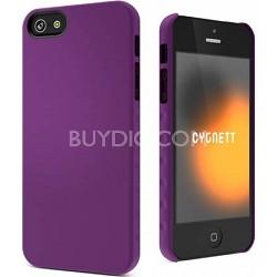 Purple AeroGrip Feel Snap-on iPhone 5 Case