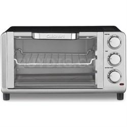 Compact Toaster Oven Broiler (TOB-80FR) - Manufacturer Refurbished