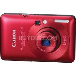 Powershot SD780 IS Digital ELPH Camera (Red) - REFURBISHED