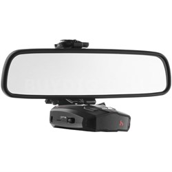 Car Mirror Mount Bracket For Radar Detectors - Cobra (3001003)