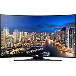 Curved 55-Inch 4K Ultra HD 120Hz Smart LED TV
