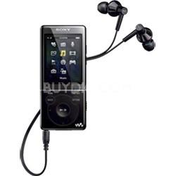NWZ-E474BLK 8GB E Series Walkman Video MP3 (Black) - OPEN BOX