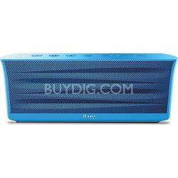 MobiOut Splash-Resistant Wireless Bluetooth Speaker with Jump-Start - Blue