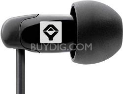 q-JAYs In-ear Noise Isolating Earphones - Black - T00011