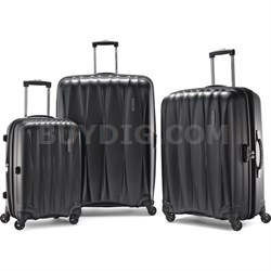 "Arona Premium Hardside Spinner 3Pc Luggage Set 20"" 25"" 29"" (Charcoal) - OPEN BOX"