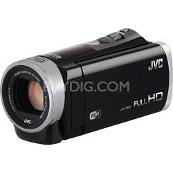 GZ-EX310BUS - HD Everio Camcorder 40x Zoom f1.8 (Black)