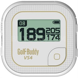 VS4 Golf GPS - White/Gold (GB7-VS4-WHEGOD)