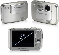 Photosmart R837 - 7.2 mega-pixel Digital Camera