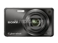 "Cyber-shot DSC-W290/B 12.1 MP Digital Camera w/ 3.0"" LCD (Black) - REFURBISHED"