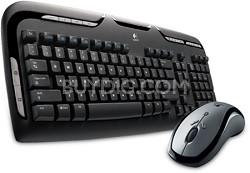 LX 310 Cordless Desktop Keyboard & Laser Mouse