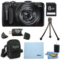 FinePix F600EXR 16 MP Digital Camera 8GB Bundle